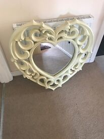 Next Rocco shabby chic mirror