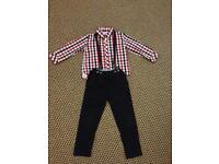 Mamas and papas boys outfit 4-5 years old