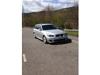 2009 BMW 520D M Sport Manual SAT NAV , FSH LCI GREAT CAR