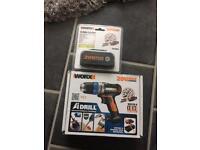 Worx adrill 20v and worx 20v battery