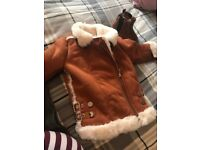 Girls river island jacket and boots