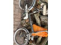 Puch collapsible bike 50 years old
