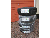 Citroen C4 Grand Picasso winter tyres and steel wheel set