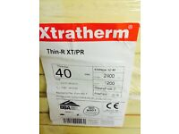 40mm xtratherm thin-R 1200x2400 foil faced