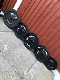130kg Olympic Weights Set in Great Condition. •Can Deliver•