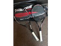 Prince O3+ Tennis Racquets (x2)