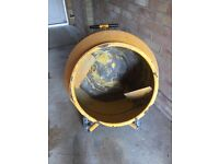 Cement mixer (electric) with stand