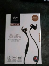 KS outrun evolution Bluetooth sports earphones