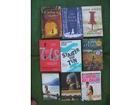 2 Sets of 9 Paperback Novels - £7.00 Each Set or All 18 Books for £12.00