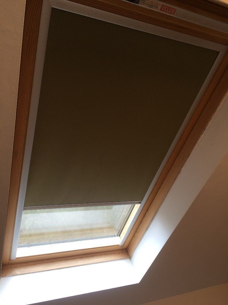 Velux roof window blinds in meopham kent gumtree for Velux window shades