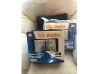 Two new Maplin 320 Capacity CD/DVD Wallets