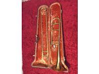 **RARE** **LIMITED EDITION**King ^Vintage American Standard 1920's Tenor Trombone w/Original Case