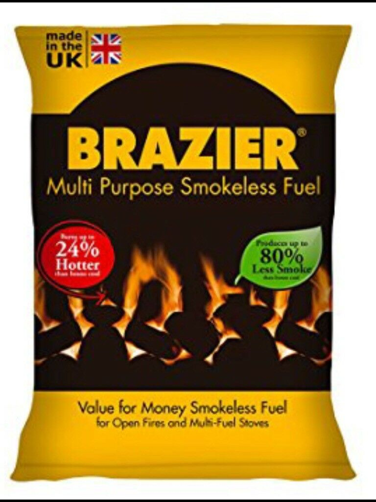 Brazier smokeless coal fuel 20kg
