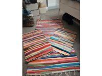3 rag rugs
