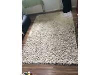 Ivory/ cream colour rug