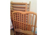 Infant Cot: great condition wooden cot