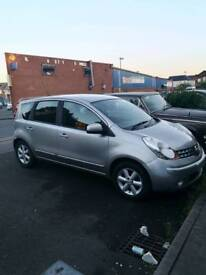 Nissan note 1.4 manual 84.000
