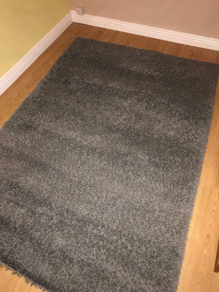 Hampen Ikea grey rug for sale - good condition