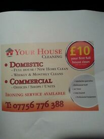 Your house cleaning and gardening service