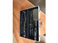 Outback barbeque utensil set