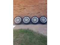 Ford Focus Zetec S 18 Inch Alloy Wheels with Tyres