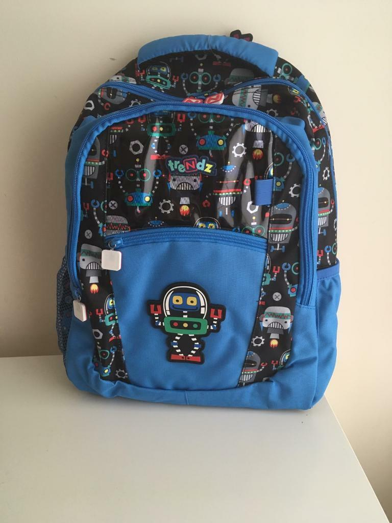 63290ab2fb19 Boy's Robot Nuby Trendz Backpack - Brand New - 4yrs+ | in Whiteley ...