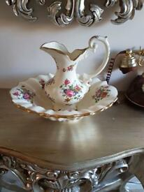 Medium size jug & bowl