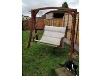 Strong garden swing for sale