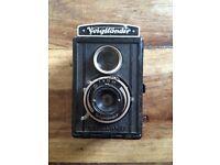Vintage voighander German camera
