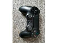 Ps4 Controller Black With Remapped Paddles on Back