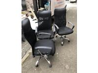 Assorted High grade office chairs in excellent condition *delivery options available