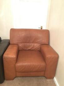 Leather single seater