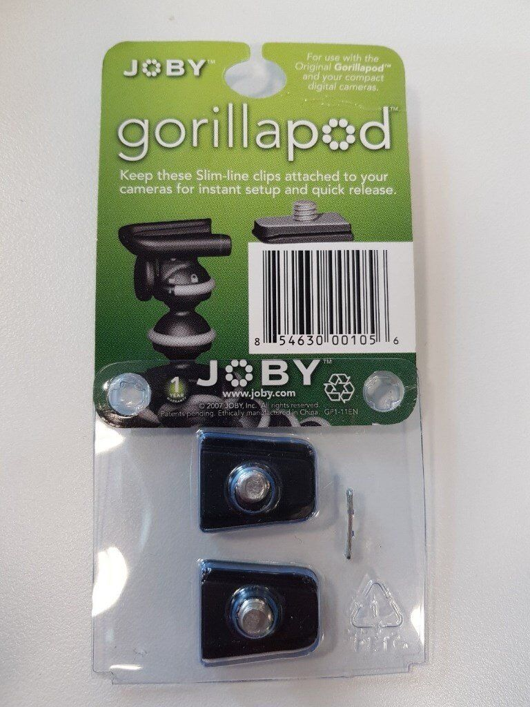 Joby JB00105-CEN-NA GorillaPod Original Clip set of 2