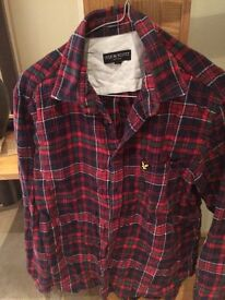 100% genuine lyle and scott shirt