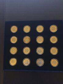 Rio Olympics 2016 Commemorative Coin Collection. Full Set in Sealed Cases.