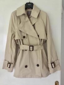 Next trench coat mac size 6