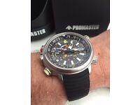 CITIZEN ALTICHRON OR PROMASTER TOUGH ECO DRIVE RAY MEARS STYLE TITANIUM WATCH WANTED CASH WAITING