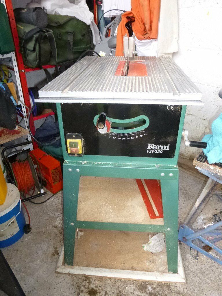 Saw table Ferm FZT 250 in very good working condition   in ...