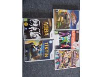 5 x wii games in great condition .£20ono