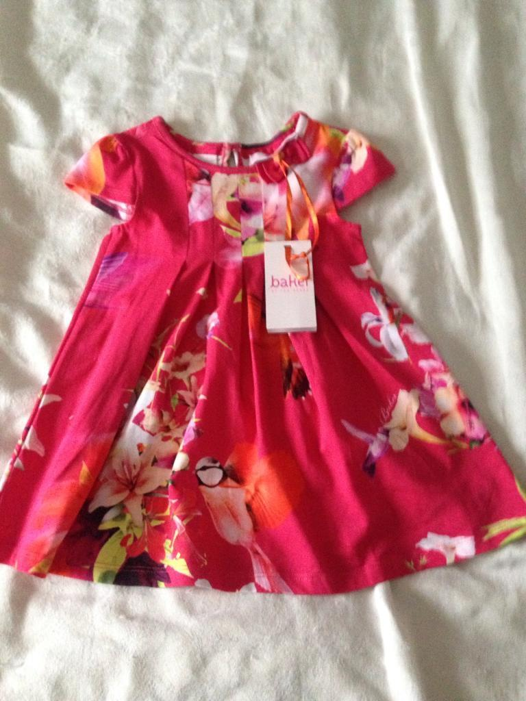 Girls Ted Baker dress(with tags)