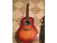 Ovation celebrity electro acoustic £400 Ono please no time wasters this is in as new condition