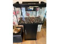 Fish Aquarium and Cabinet