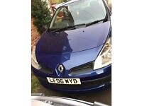 2006 07 Clio expression 1.2 long mot great runner full service history can belt change water pump