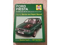 Haynes Manual Ford Fiesta 95-02
