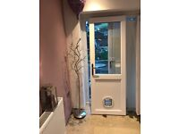 Upvc double glazed back door
