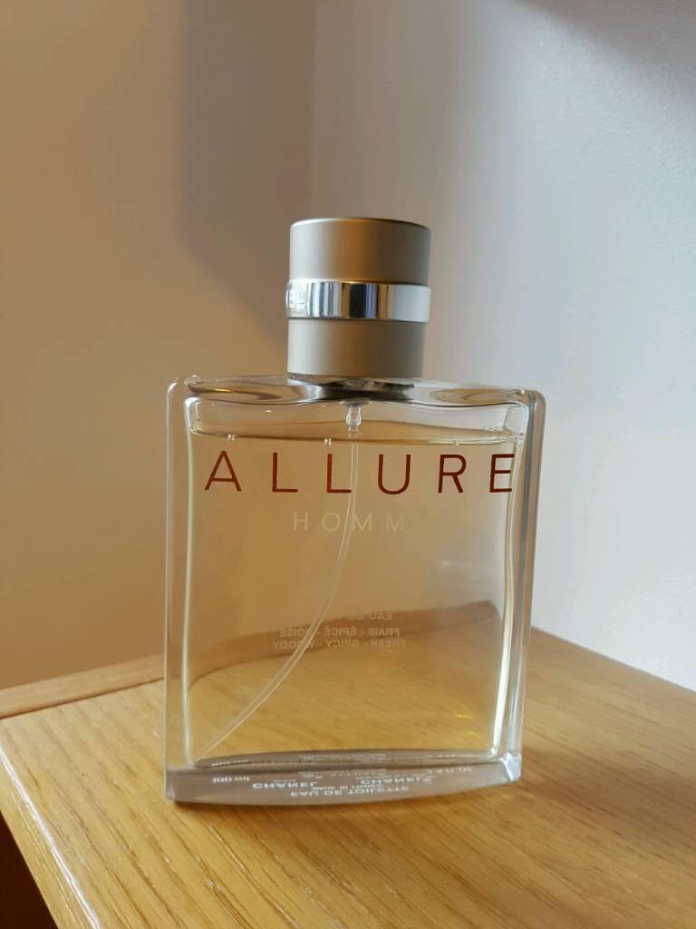 chanel allure pour homme edt 100ml mens fragrance in. Black Bedroom Furniture Sets. Home Design Ideas