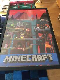 Poster mine craft
