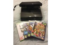 Xbox 360 and Kinect also with games no controller all in good working order