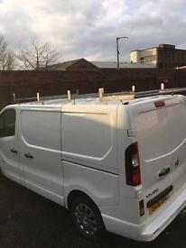 Vauxhall vivaro Renault trafic traffic roof rack