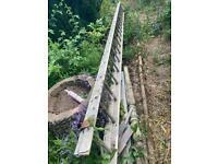 Builders Aluminium heavy duty double 20 ladders